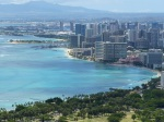 Waikiki Beach from Diamond Head Lookout